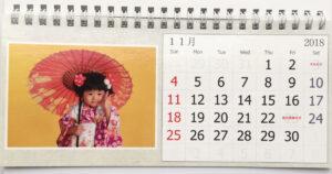 ビスタプリント 卓上カレンダー