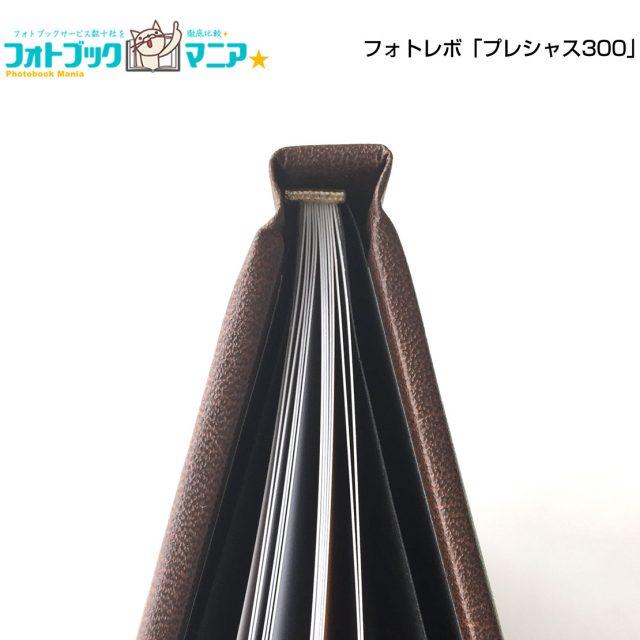 フォトレボプレシャス300 装丁・綴じ方