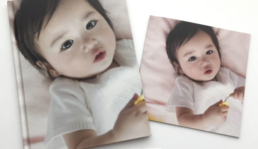 【画質比較】ドリームページ2種のフォトブックを同じ画像で比較【口コミ/レビュー】