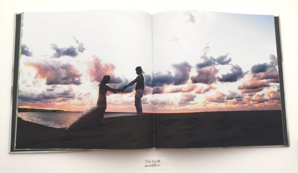 フォトレボで作成した「プレミアム バロン」結婚式のフォトブックイメージ