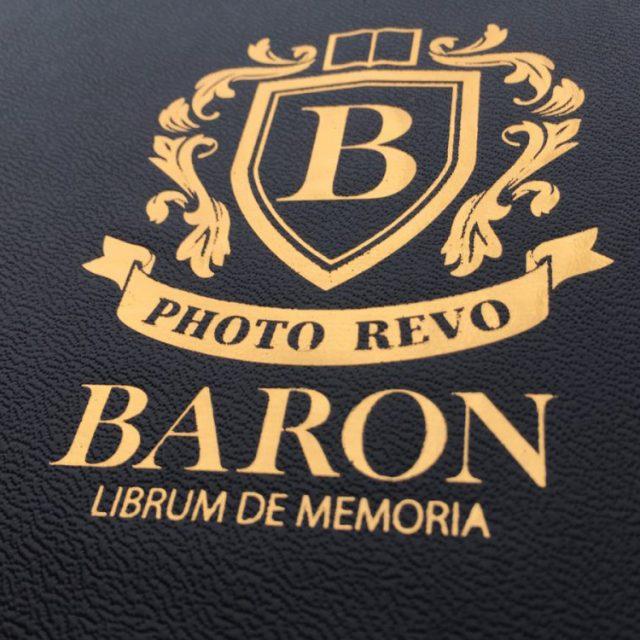 フォトレボで作成したバロンの化粧箱 エンブレム