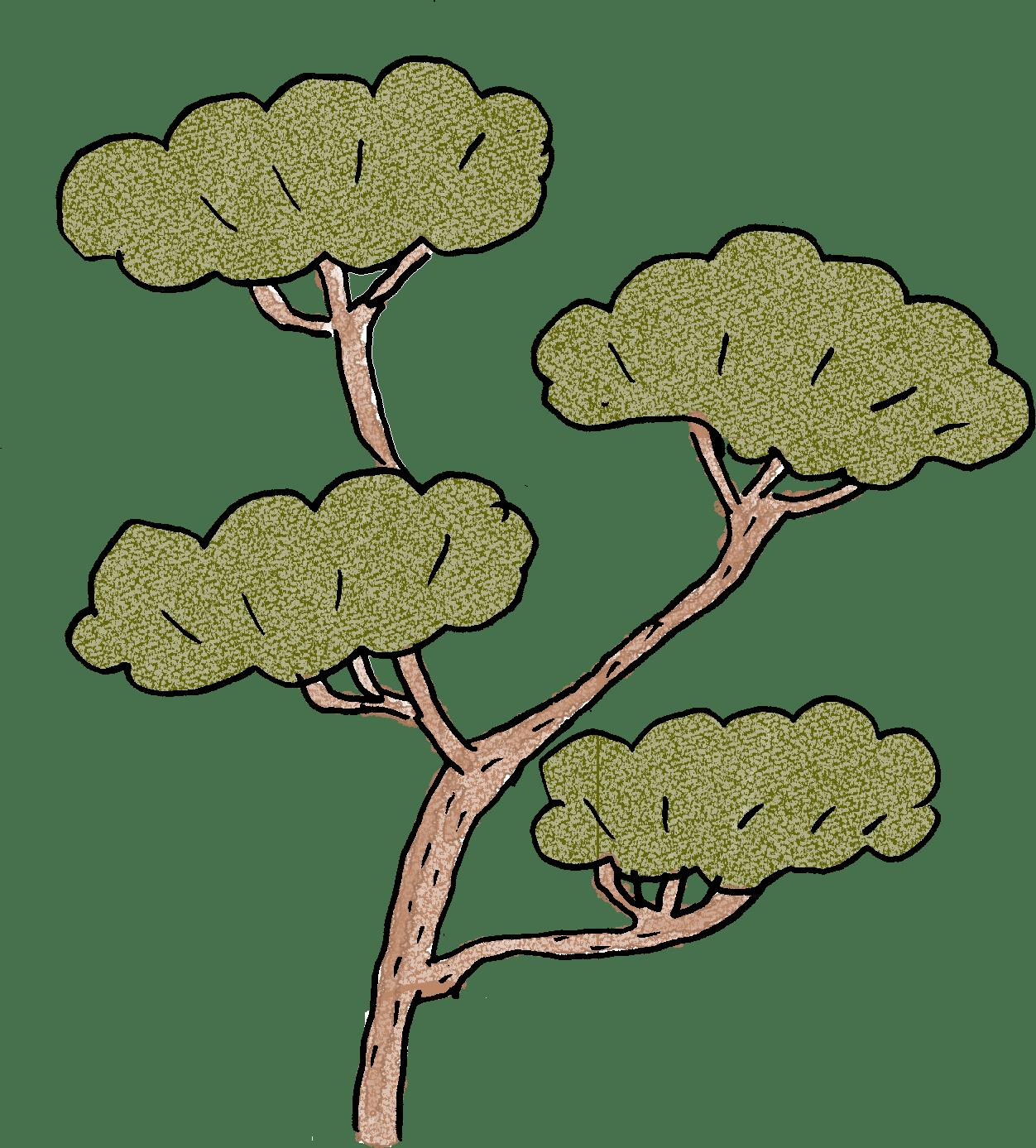 七五三のフォトブック素材:松・和風