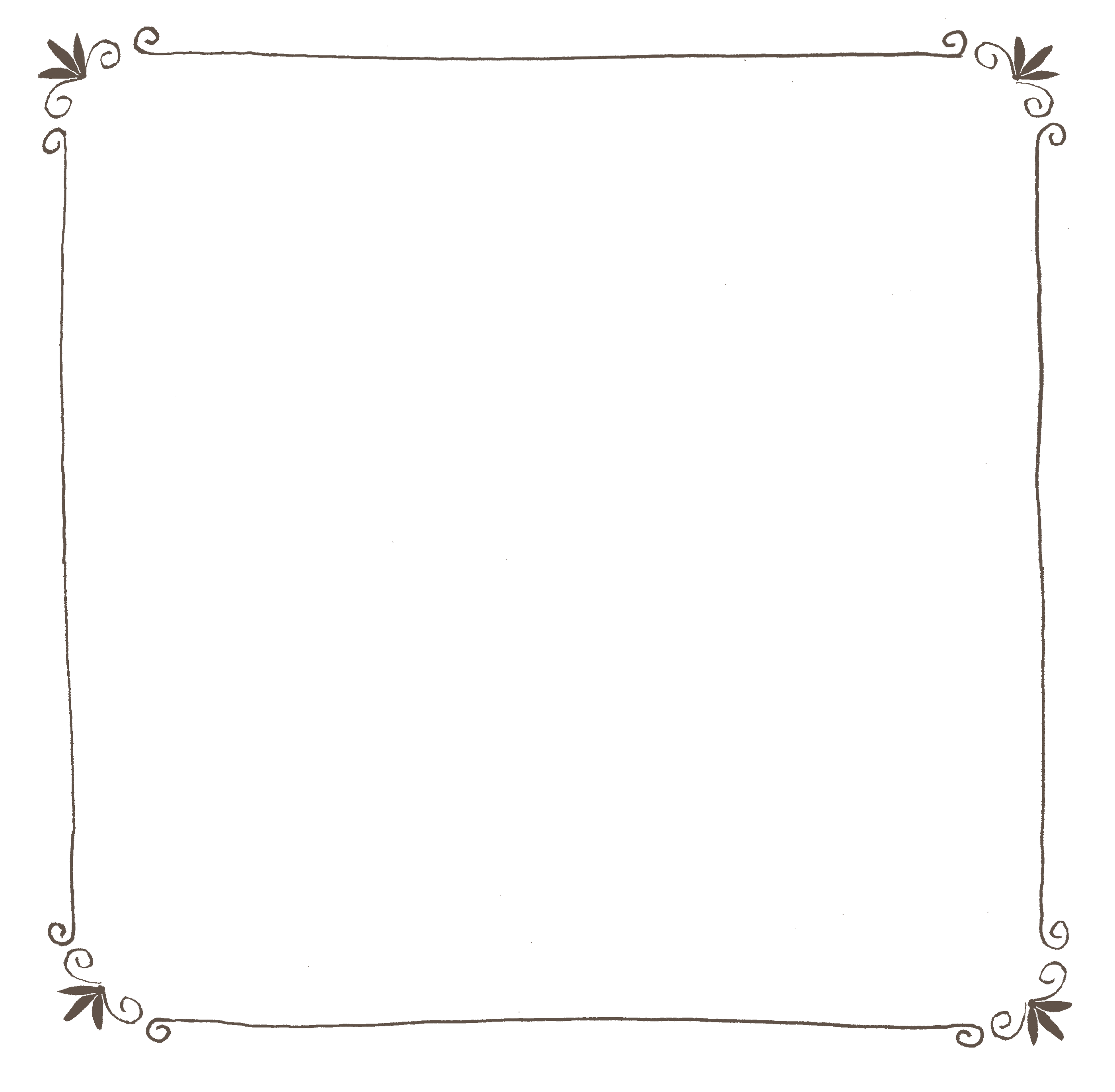 赤ちゃんのフォトブックスタンプ素材:枠・フレーム・シンプル