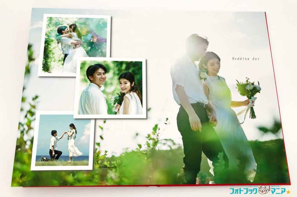 結婚しきのフォトブック PhotoJewel S で作成