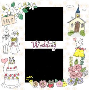 【限定配布】結婚式のフォトブックテンプレート&装飾スタンプ素材!