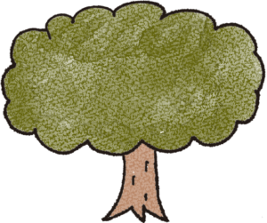 赤ちゃん・出産のフォトブックスタンプ素材:木