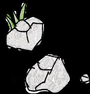 石・草:子供(男の子向け)のテンプレート フォトブックスタンプ素材