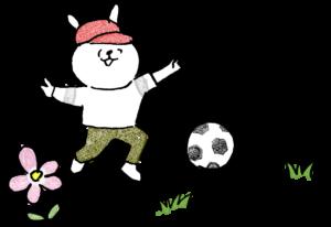 サッカー:子供(男の子向け)のテンプレート フォトブックスタンプ素材