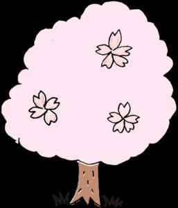 桜・4月・入園・卒園・卒業・入学:子供(女の子向け)のフォトブックスタンプ素材