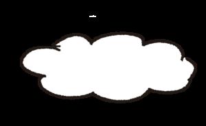 雲:プレゼント・祖父母・敬老の日・お正月・誕生日・七五三・和風のスタンプ素材