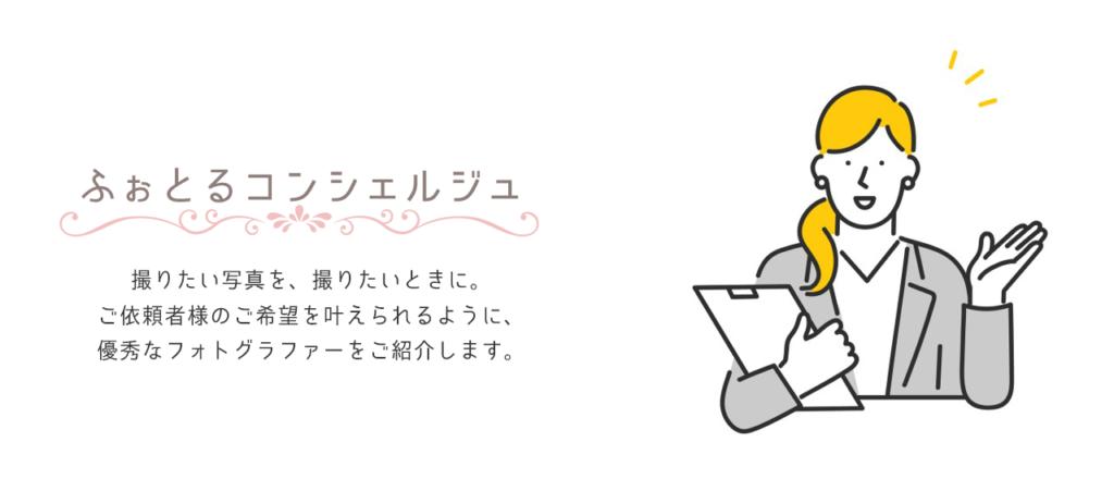 ふぉとる公式サイトより引用