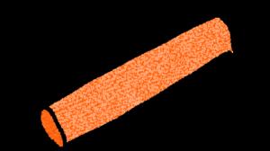 バトン・リレー・紅組・運動会:運動会のスタンプ素材