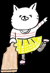 羽子板・羽付き・女の子:年賀・お正月のフォトブックスタンプ素材