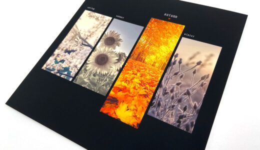 PhotoJewel S で紅葉・アートのフォトブックを作ってみた!レイアウト例10パターン!